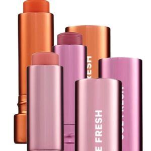 Brand new three sealed Joe Fresh tinted lip balms